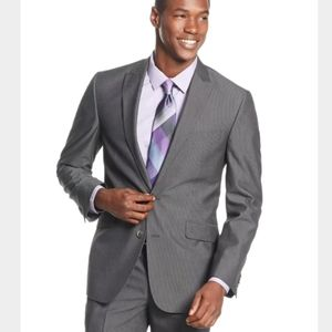 Kenneth Cole Reaction Gray Pinstripe Sport Coat